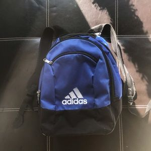 Adidas athletic backpack / book bag